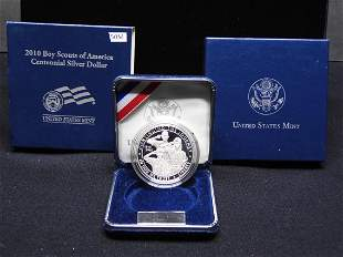 2010 Boy Scouts Of America Centennial Proof 90% Silver
