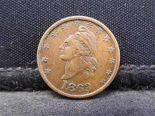 """Token - 1863 Civil War Token - """"Our Country"""" in on the"""