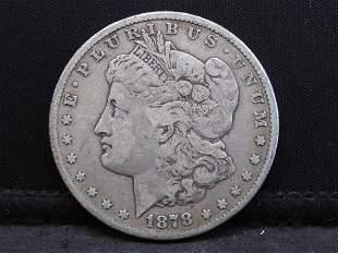 1878-CC Morgan Silver Dollar - Rare Date!!