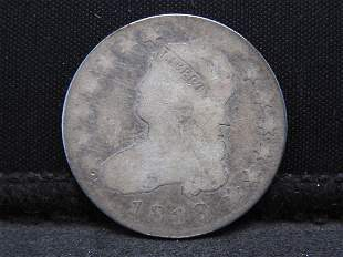 1818 Capped Bust Silver Quarter - Lg. Size - Early Date