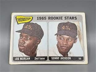 1965 Topps Joe Morgan #16 Rookie HOF