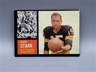 1962 Topps Bart Starr #63 Short Print
