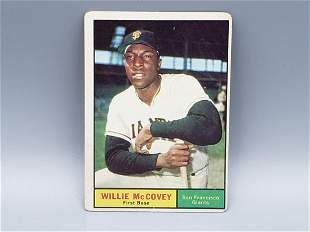 1961 Topps Willie McCovey #517