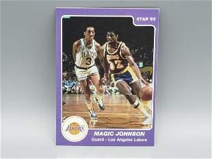 1984-85 Star Magic Johnson #172 HOF