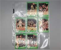 (266) 1984-85 Star Basketball Cards  Near Complete Set