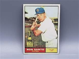 1961 Topps Ron Santo #35 Rookie HOF