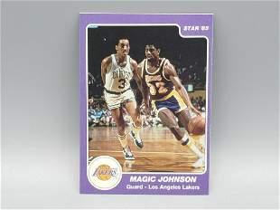 1984-85 Star Magic Johnson #172 HOT