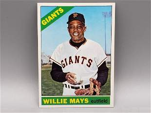 1966 Topps Willie Mays #1