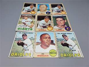 (30) Baseball Cards 1967-70 - All Hall of Famers!