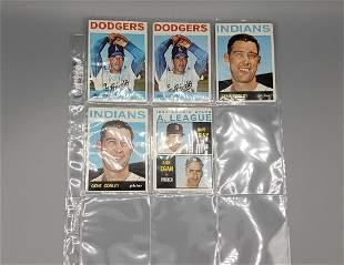 (86) 1964 Topps Baseball Cards Varying Grades Stars