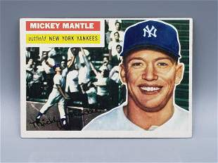 1956 Topps Mickey Mantle #135 Hot!!