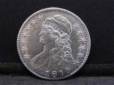 1813 Capped Bust Half-Dollar.  AMAZING DETAIL &