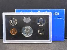 1970-S US Proof Set. Regular coinage plus silver