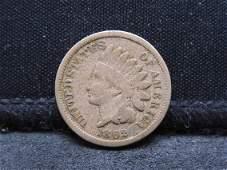 1862 Copper Nickel Indian Head Cent Civil War Era