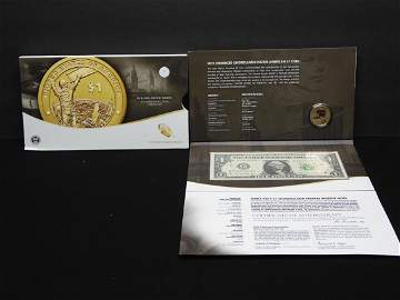 2015 Mohawk Iron worders American $1 con and currency