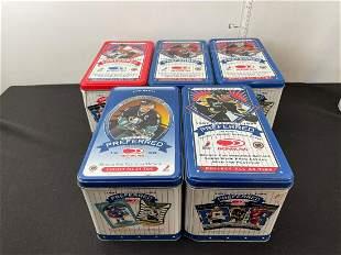 1997-1999 Donruss Preferred NHL Hockey Empty Tins Lot -