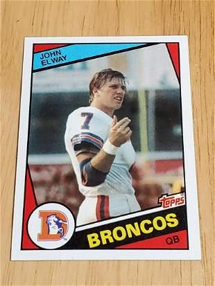 1984 Topps Football #63 John Elway Rookie