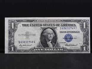 Series 1935-F $1.00 Silver Certificate Crisp