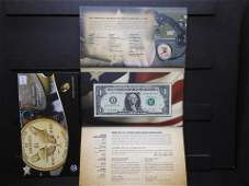 2016 �Code Talkers� American Coin and Currency Set. Has