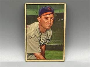 1952 Bowman Bob Lemon #23 HOF