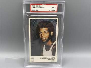 1972 Icee Kareem Abdul Jabbar PSA 7 NM - Scarce