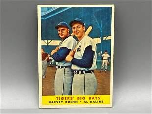 1959 Topps Al Kaline - Tiger's Big Bats #304