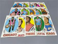 (30) 1969 Topps Basketball Cards - Most are Mid Grade