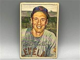 1952 Bowman Bob Feller #43 HOF