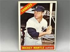 1966 Topps Mickey Mantle #50 HOF