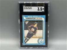 1979-80 O-Pee-Chee Wayne Gretzky #18 RC SGC 3.5