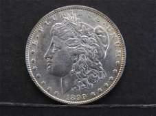 1899 Silver Morgan MS 65