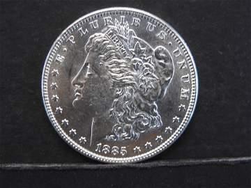 1885 O Morgan Dollar MS 66