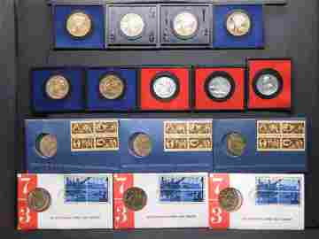 American Revolution Bicentennial Medals and Stamps