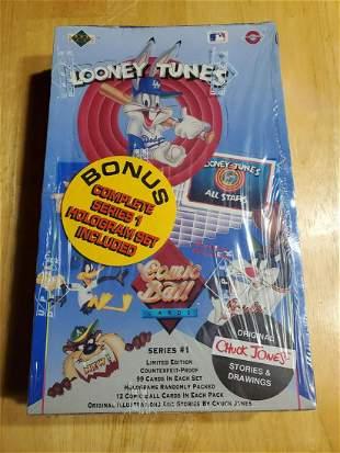 1990 Upper Deck Comic Ball Factory Sealed Wax Box