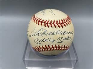 1990's MLB 500 HR Club Signed Baseball - Authenticity