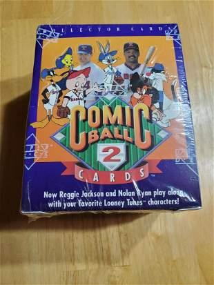 1991 Upper Deck Comic Ball 2 Factory Sealed Wax Box