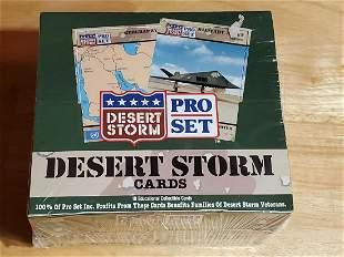 "Factory Sealed ProSet ""Desert Storm"" Wax Box"