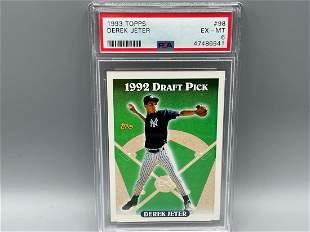 1993 Topps Derek Jeter RC #98 PSA 6