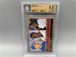 2000 Topps Alfonso Soriano Prospects #203 BGS 9.5 GEM
