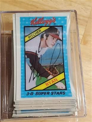 1980 Kellogg's 3D Baseball Card Set
