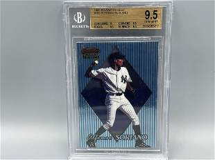 1999 Bowman's Best Alfonso Soriano RC #169 BGS 9.5 GEM