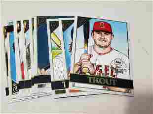 2020 Topps Chrome Inserts Gallery Preview Set