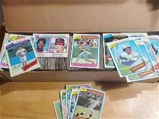 1980 Topps Baseball Lot
