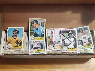 1981 Fleer Baseball Lot