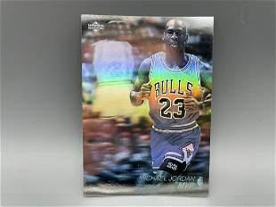 1991-92 Upper Deck Michael Jordan Hologram Insert #AW4
