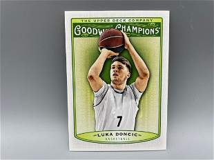 2019 Upper Deck Goodwin Champions Luka Doncic RC #30