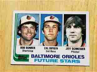 1982 Topps Baseball #21 Cal Ripken Jr. Rookie
