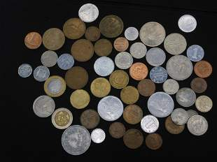 Mixture of Foreign/ World coins