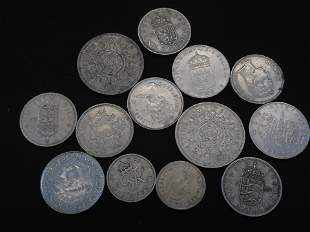 13 Foreign / World Coins