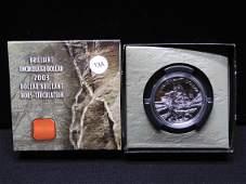 2003 Canada Cobalt Silver Strike .9999 silver Dollar in